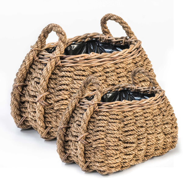 BASKET GEORGETTE SET OF 2