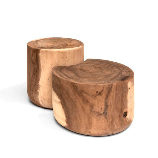 SET OF ROUND COFFEE TABLES LUDOVICA