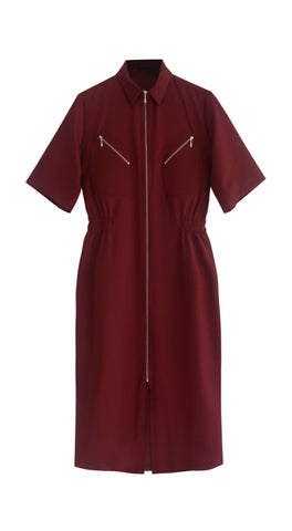 Pilot Dark Red Dress