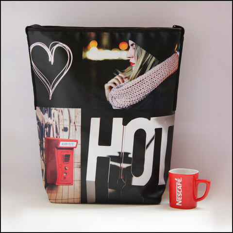 TOTE BAG Spacious vegan Tote bag for Travelers & Fashionistas! Most... click for more information