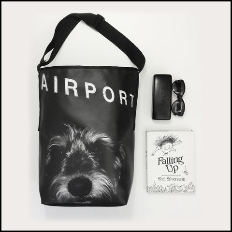 TOTE BAG Spacious vegan Tote bag for Travelers & Dog lovers! Mostly... click for more information
