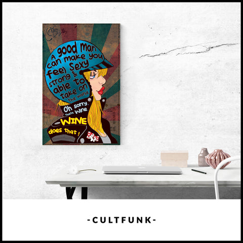 ART CANVAS Digital art print on bright white, fine poly-cotton blend, Ep... click for more information