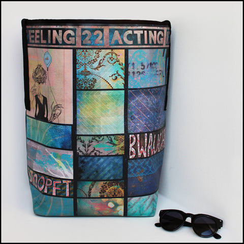 TOTE BAG Spacious vegan Tote bag for Travelers & Art lovers! * This... click for more information