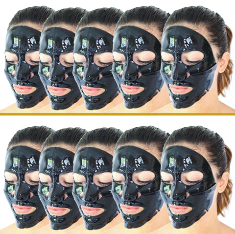 Buy (5) Get (5) 24k Charcoal Masks Free