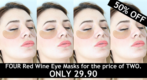 Red Wine Eye Mask Bundle