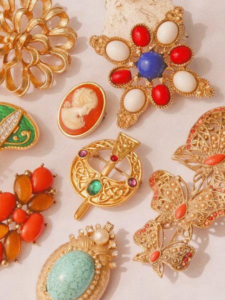 Vintage Brooches under £45