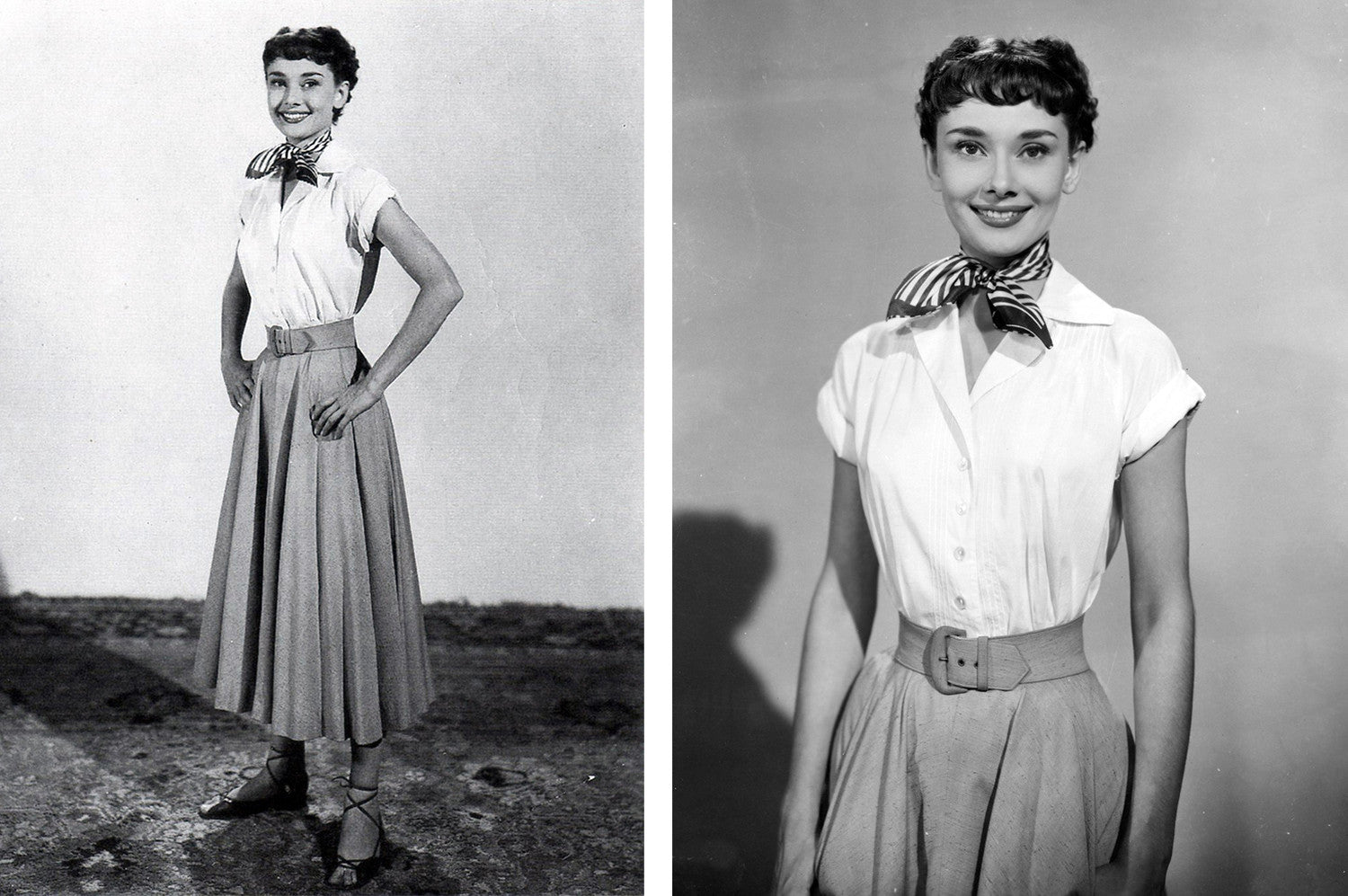 The style of Audrey Hepburn | How to dress layers? | On Slowness blog