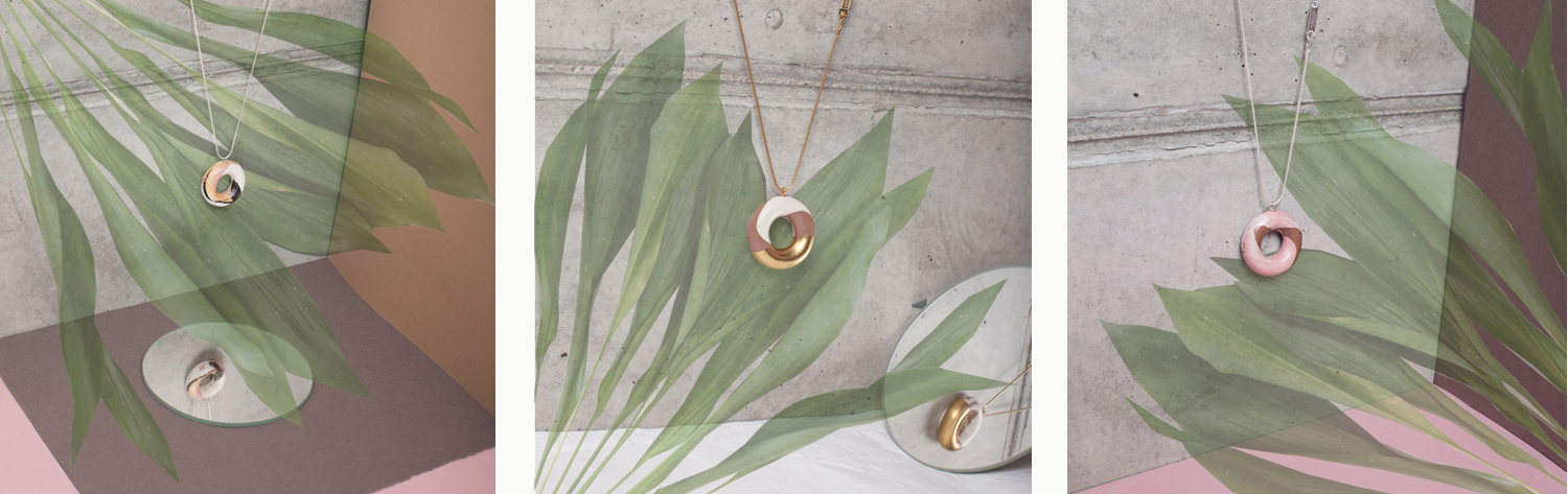 tadam design doughnut jewellery necklace | on slowness 1