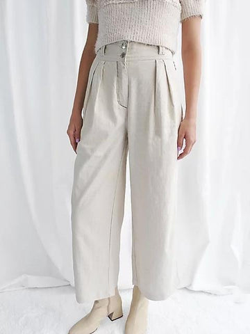 House of Sunny LA pleats trousers sales | ON SLOWNESS