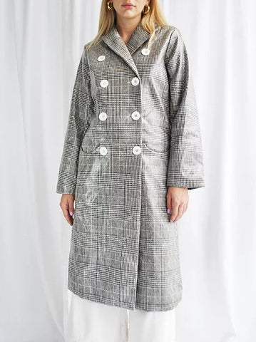House of Sunny Long Retro Nostgia Trench sales | ON SLOWNESS