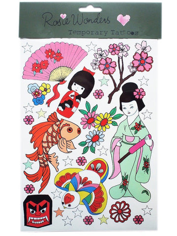 Geisha (Temporary Tattoos)