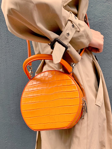 Rebecca Minkoff circle bag orange