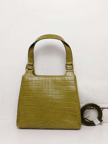 vintage Salvatore Ferragamo bag | on slowness