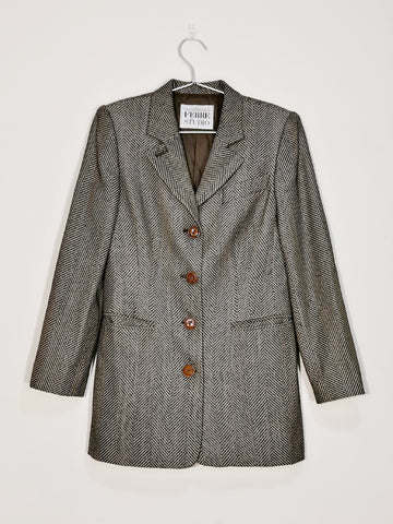 vintage Gianfranco Ferre wool blazer | on slowness