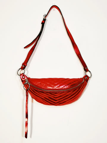 Rebecca Minkoff Bree belt bag Red