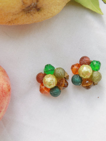 Candy box (Vintage Clip-on Earrings)