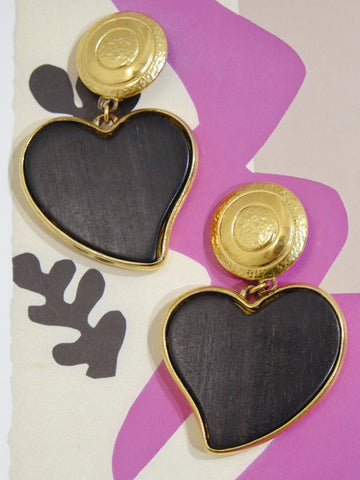 Vintage YSL Yves Saint Laurent earrings | on slowness