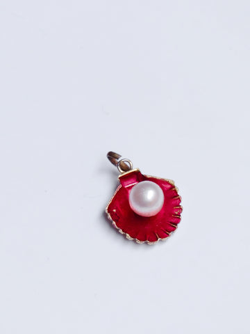 The pearl shell necklace pendant (Vintage)