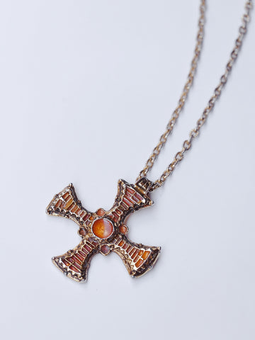 The cross necklace (Vintage)