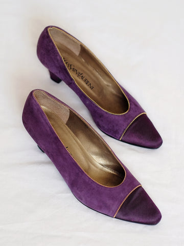vintage YSL Yves Saint Laurent high heels | on slowness