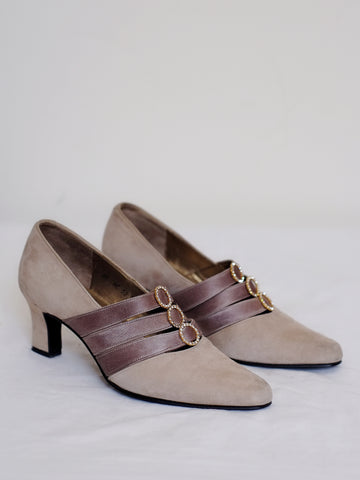 vintage YSL Yves Saint Laurent heels shoes | on slowness