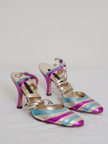 vintage Sergio Rossi sandals | on slowness