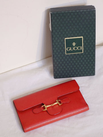 vintage GUCCI wallet | on slowness