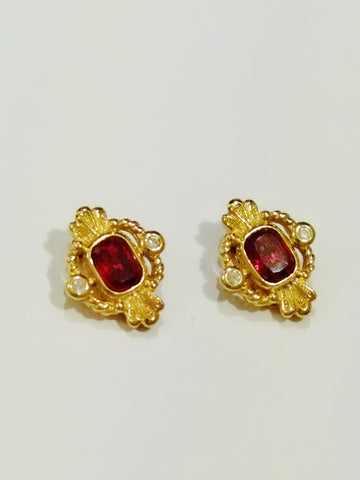vintage Christian Dior earrings | on slowness