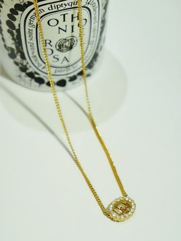 vintage Christian Dior necklace | on slowness
