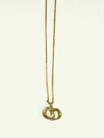 Christian Dior logo necklace (Vintage)