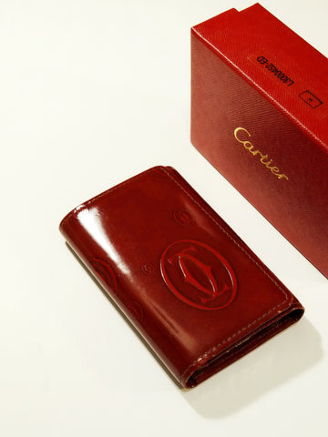 vintage Cartier key wallet | on slowness