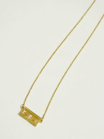 Givenchy logo necklace (Vintage)