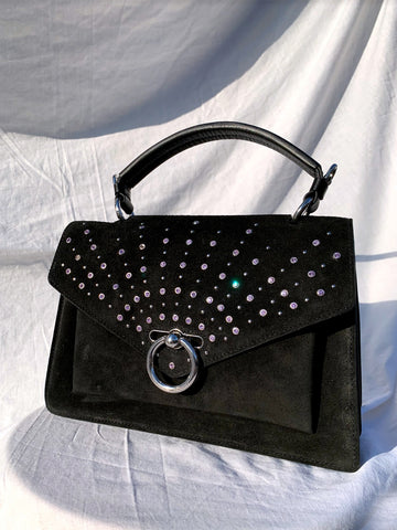 Rebecca Minkoff black studs bag outlet sales | ON SLOWNESS