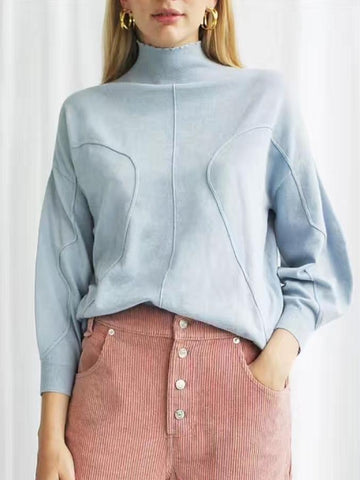 House of Sunny Volume Jumper Ash blue sample sale outlet | ON SLOWNESS