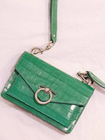 Rebecca Minkoff sales outlet Jean mini crossbody foreat green | ON SLOWNESS