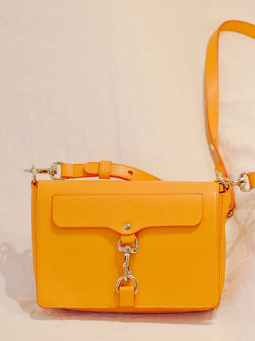 Rebecca Minkoff sales outlet Mab Flap crossbody orange | ON SLOWNESS