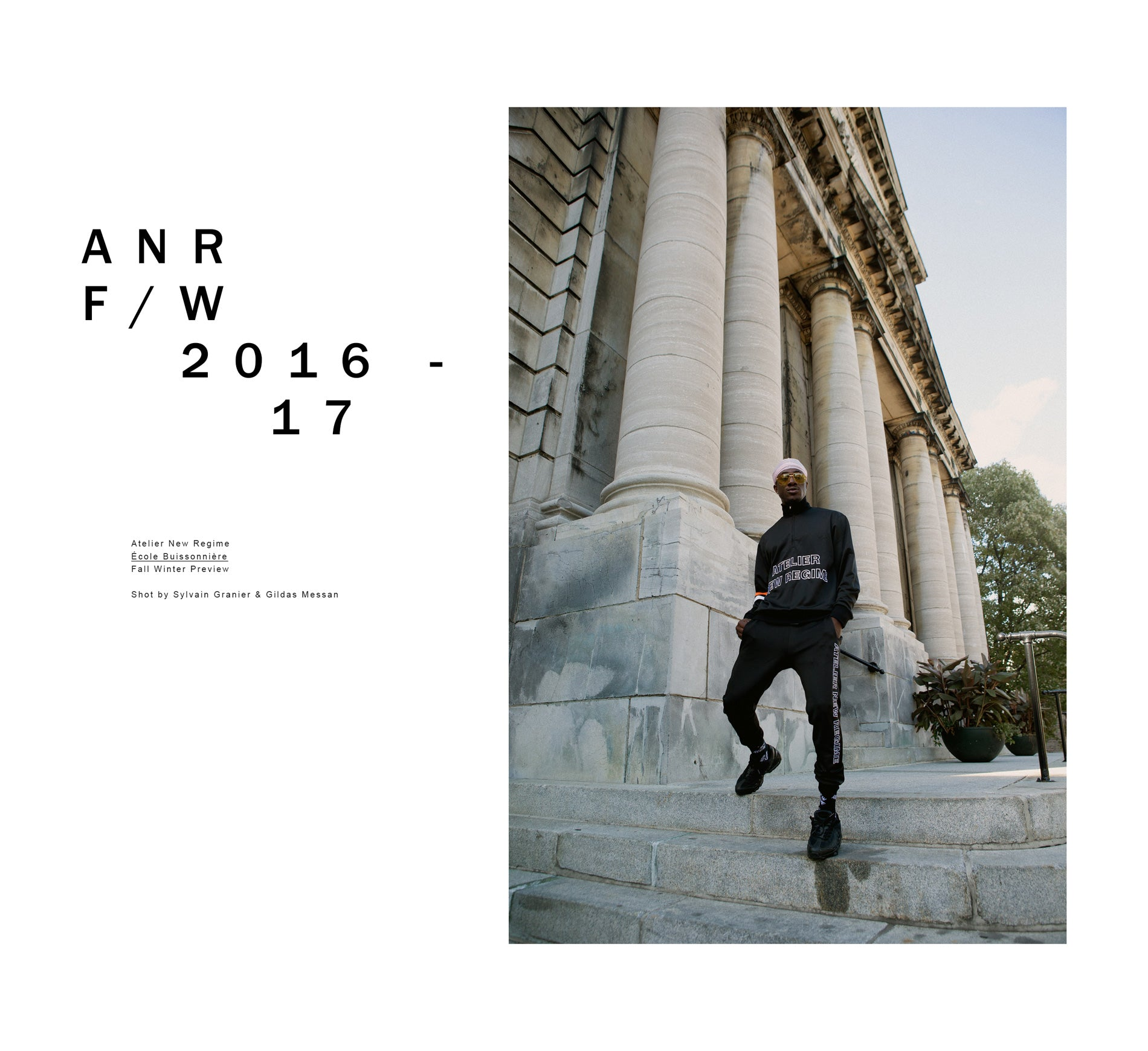 Atelier New Regime - FW 2016-17 Preview