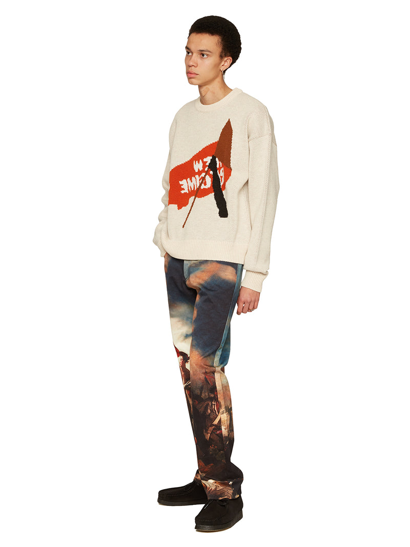 Flag Knit Sweater