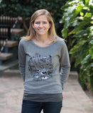 """FREEDOM"" Women's Light Sweatshirt"