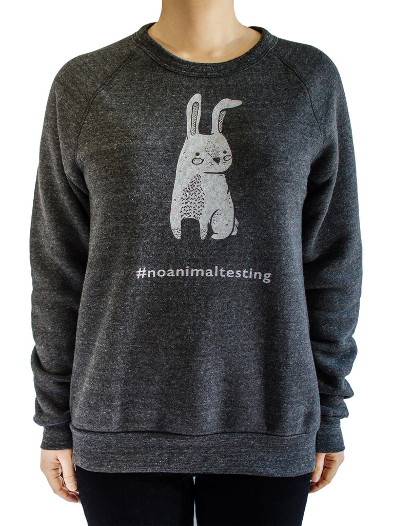 No Animal Testing Unisex Sweatshirt