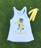 'It's NANA time!' triblend tank top