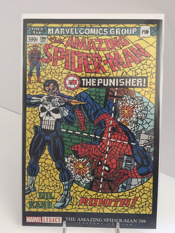 Amazing Spider-Man #789 ~ Shattered Comics Variant