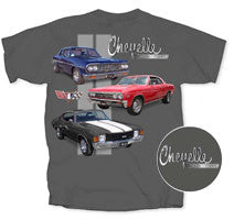 3 Chevelle's - Car Shirts Guy