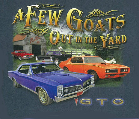 GTO  A  Few Goats Out In The Yard