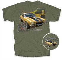 Chevy Vintage CAMARO - Car Shirts Guy