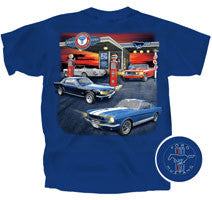 Mustang Gas Station - Car Shirts Guy