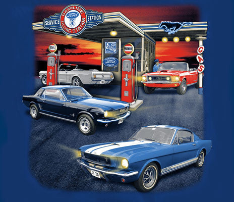 Mustang Gas Station