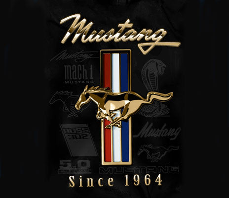 Mustang Golden Tri bar