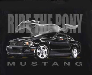 Ride The Pony Mustang