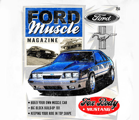 Ford foxbody muscle magazine - Car Shirts Guy